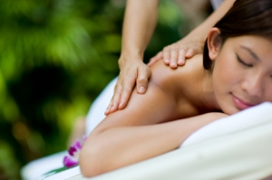 Massaging Hands